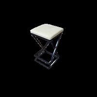 Полубарный табурет Лофт с мягким сиденьем