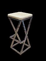 Барный табурет Лофт с мягким сиденьем